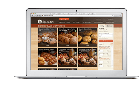 Online ordering is easy. Save your favorites, request a quote and earn rewards.