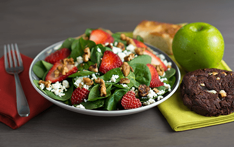 Spinach, Berry & Goat Cheese Box