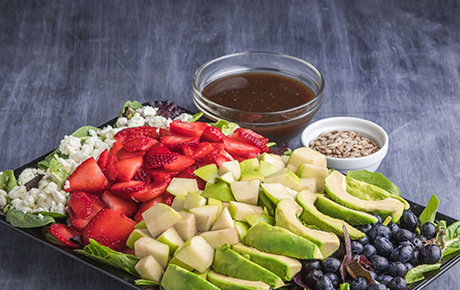 Balsamic, Berry and Avocado
