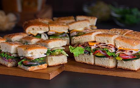 Deluxe Finger Sandwiches