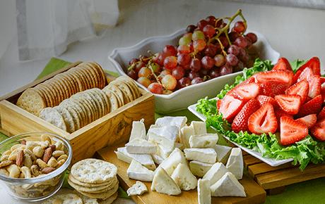 Fruit, Brie & Nut Platter