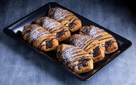 Double Chocolate Croissant Platter