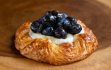 Fresh Blueberry Cream Cheese Croissant