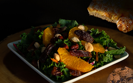 Moroccan Kale Salad Boxed Lunch