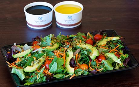 Mixed Greens Salad Platter