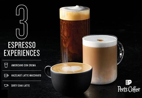Peets: 3 Winter Espresso Experiences